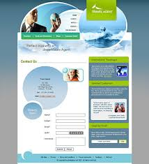 travel agents css templates download