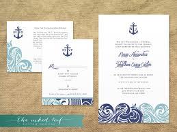 nautical themed wedding invitations modern nautical themed wedding printable invitation suite gettin