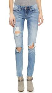 Skinny Jeans With Holes 9 Best Distressed Jeans For Winter 2017 Ripped Jeans And