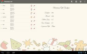 list gift planner android apps on play