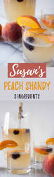 susan u0027s peach shandy peaches hungry by nature