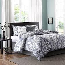 Home Essence Comforter Set Amazon Com Home Essence Adela 7 Piece Bedding Comforter Set Gray