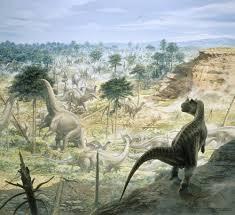 ceratosaurus and apatosaurus wallpaper nhm mural wallsauce usa ceratosaurus and apatosaurus herd wall mural photo wallpaper