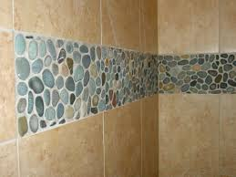 pebble tile shower floor river pebble tile shower floor cleaning