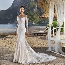 2017 amazing lace mermaid wedding dress fashion v neck