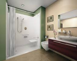 Bath Shower Walls Bathroom Shower Ideas No Door Creative Bathroom Decoration