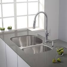 Kraus Kitchen Faucets Inspirations And German Faucet Brands Images Kraus Nola Single Lever Pull Down Kitchen Faucet And Soap