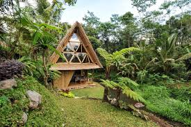 hideout bali eco bamboo home bungalows for rent in selat bali