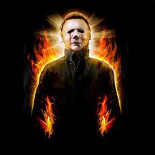rock rebel michael myers halloween 2 in flames classic horror