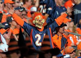 nfl fans celebrate halloween