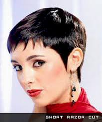 very short razor cut hairstyles razor cut hairstyles for short hair