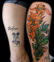 chris brown leg tattoo before and after of my watercolor fox by deanna yelp