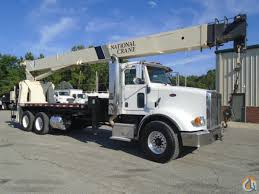 2009 national peterbilt 9125a boom truck cb u0026j 896 crane for sale