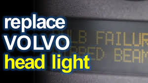 bulb failure position light volvo s60 replacing volvo s80 headlight dipped beam youtube
