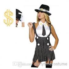 Women Halloween Costumes Gangster Costumes Women Halloween Costume Fancy Dress