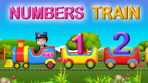 nursery rhymes the number train video learning numbers 1 to 10