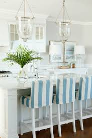 Kitchen Chair Covers Blue And White Stripe Kitchen Chair Covers Coastal Living