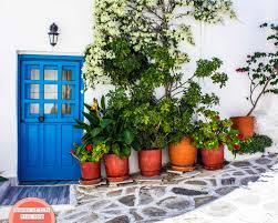 door photography greece print travel photography greece