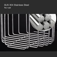 Stainless Toilets Stainless Steel Kitchen Toilet Paper Holder Super Suction Hanging