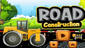construction trucks for children learning road construction app