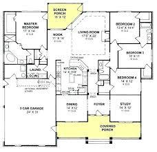 4 bedroom split floor plan split floor house plans building systems ranch split floor plan