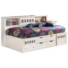 Storage Bed With Headboard Bookcases Ideas Storage Bed With Bookcase Headboard Foter