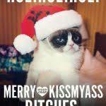 Merry Christmas Funny Meme - funny grumpy cat merry christmas saying meme joke in merry christmas