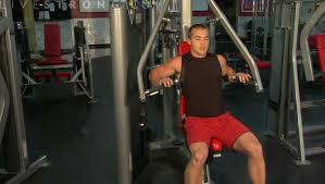 Seated Bench Press How To Use A Chest Press Machine Youtube