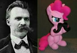 Meme Moustache - 1650054 doll facial hair friedrich nietzsche funny meme