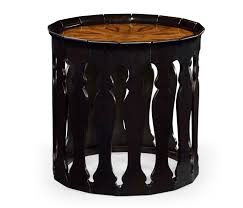 moroccan round coffee table designer moroccan round black side table swanky interiors