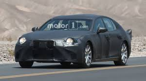 lexus ls 500 latest news next lexus ls wears tail fins while testing