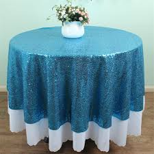 48 Round Tablecloth Round Tablecloth Sparkly Promotion Shop For Promotional Round