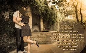 best quote from the notebook movie 20 love quotes wallpaper romantic couple images with quotes