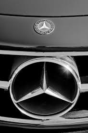 mercedes car emblem 1961 mercedes 300 sl grille emblem photograph by reger
