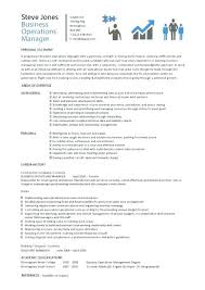 operations manager sample resume u2013 topshoppingnetwork com