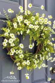 summer wreath diy easy fern summer wreath on sutton place