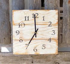 wall clocks large 36 lanier rustic wood wall clock barn wood