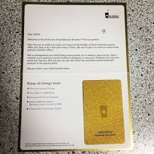 starbuck gold card dolemite6 my starbuck s rewards gold card came in the mail