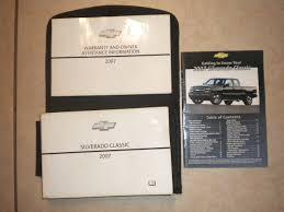 amazon com 2007 chevrolet chevy silverado classic owners manual