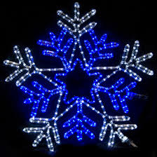 5m5m led snowflakes stringas light tree ornament