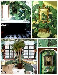 tropical inspiration the glossy banana leaf u0026 the striking
