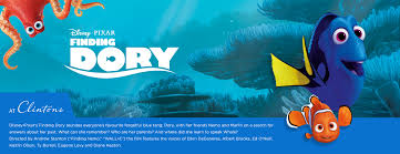 disney finding dory clintons