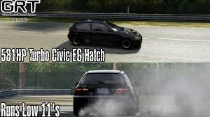 94 honda civic eg hatchback forza motorsport 4 grind s turbo 581hp 94 honda civic eg hatch