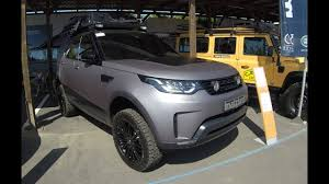 land rover discovery expedition land rover discovery 5 hse td6 dc8 new model 2017 matte grey