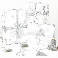 silver christmas wrapping paper silver snowflakes white wrapping paper vánoce vánoce