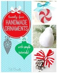 handmade ornament tutorials by favorite u create