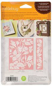 amazon com cuttlebug a2 embossing folder border set anna griffin