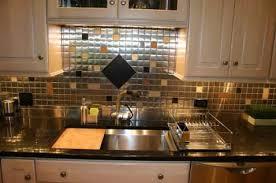 Steel Tile Backsplash by Mosaic Tile Backsplash Pictures Get Ideas For Your Kitchen