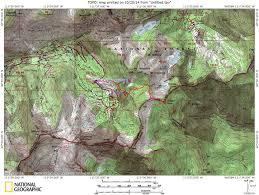 Utah Topo Maps by Hiking Sunset Peak At Alta
