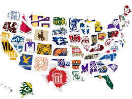 Empty United States Map by Most Expensive College By State Map Business Insider